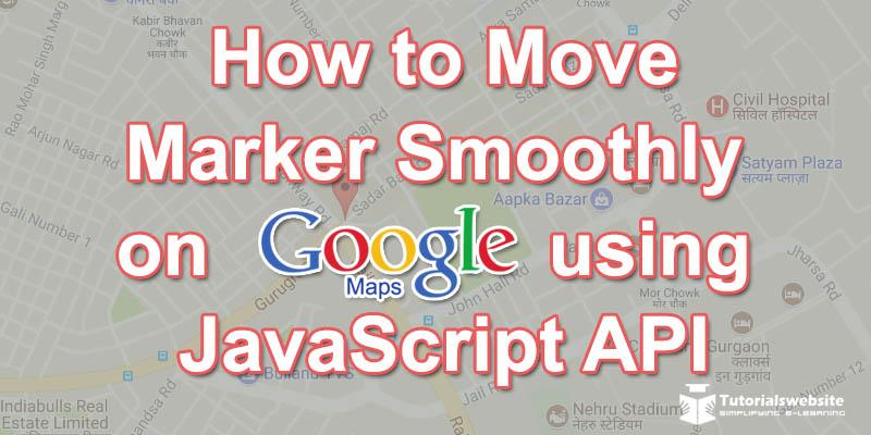 google-maps-api-marker-smoothly