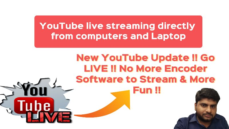 youtube go live streaming
