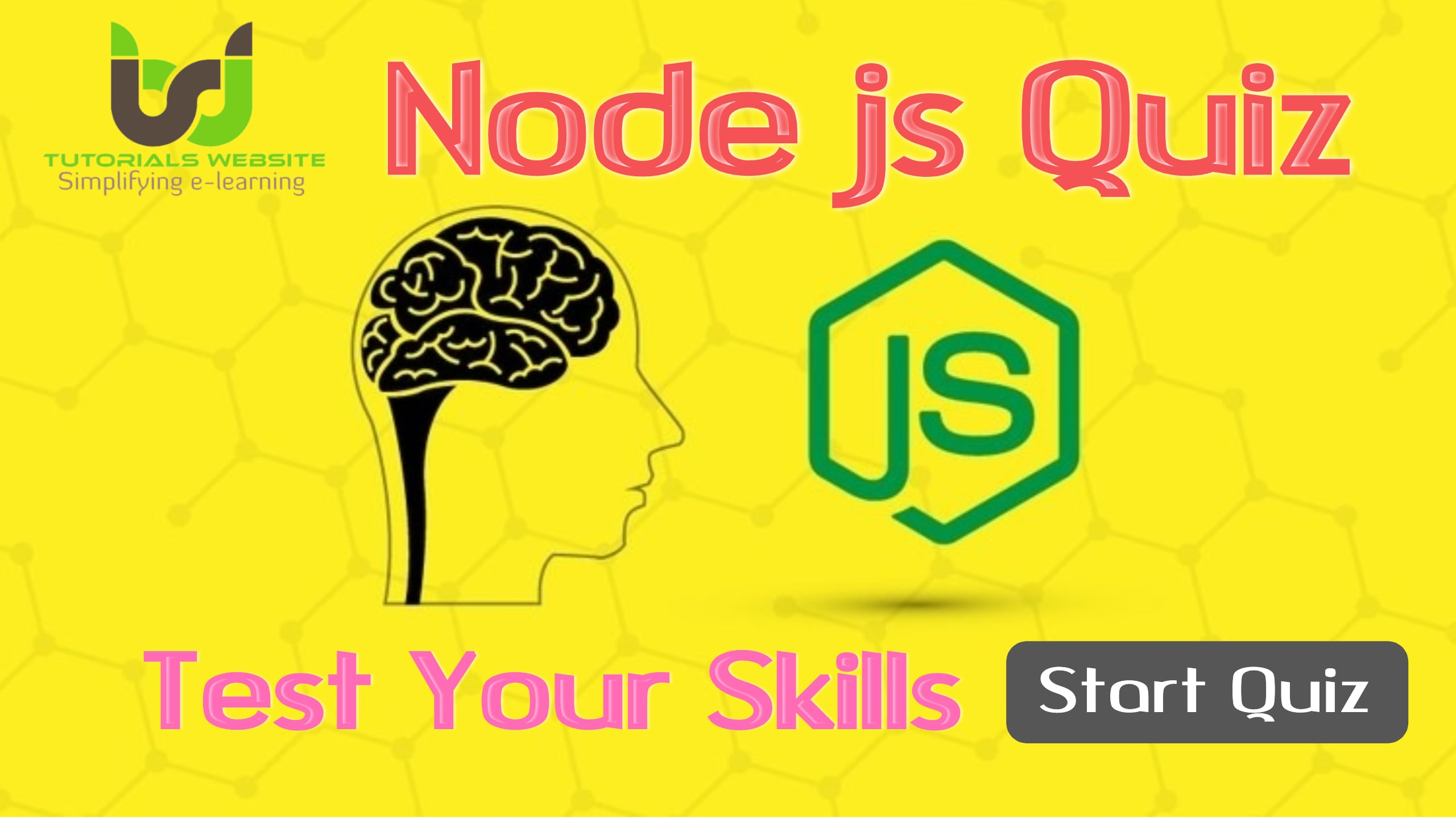 Node Js Quiz Test | Tutorials Website